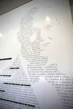 BSSD: The names of key donors could be use to create a donor tree image in the… Floor Graphics, Window Graphics, Environmental Graphic Design, Environmental Graphics, Donor Wall, Wall Text, Wayfinding Signage, Inspiration Wall, School Design