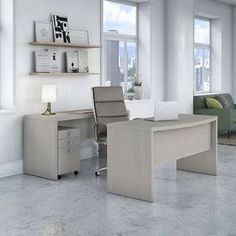 modern bow front desk - Google Search
