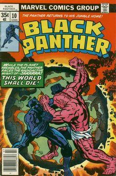 Black Panther # 10 by Jack Kirby & Joe Sinnott