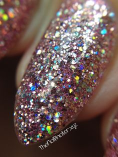 The Nailinator - Pure Ice Spit Fire Macro Glitter Bomb, Pink Glitter, Holographic Glitter, My Nails, Polish, Nail Art, Ice, Pure Products, Collection