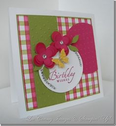 Very Cool Card using a fun sizzlet  More details on my blog at   http://www.stampingleeyours.blogspot.com