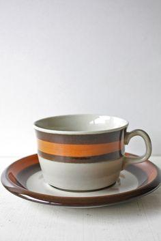 北欧/Rorstrand(ロールストランド)/ANNIKA/コーヒーカップ&ソーサー