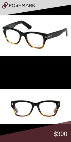 NWOT Tom Ford Frames Brand New never used Tom Ford frames. Come with Tom Ford Case and Cloth. Black and Tortoise. Frames do not come with demo lenses. Tom Ford Accessories Glasses