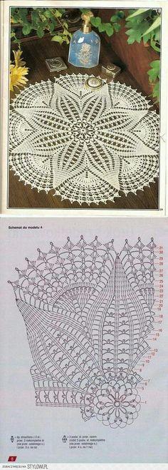 Luty Artes Crochet: Xale em cr |