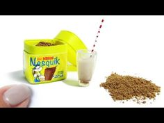 Miniature Nesquik DIY kakao! - YouTube