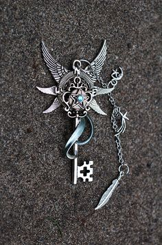 Wing Compass Key by KeypersCove.deviantart.com on @deviantART