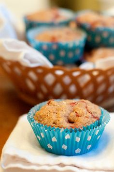 Strawberry-Lemon Muffins from @Lana Stuart | Never Enough Thyme http://www.lanascooking.com/2013/05/28/strawberry-lemon-muffins/