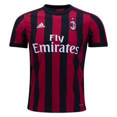 bcd8f1e31 AC Milan 2017 18 Home Jersey. ⚡ Just Launched!⚡ Available