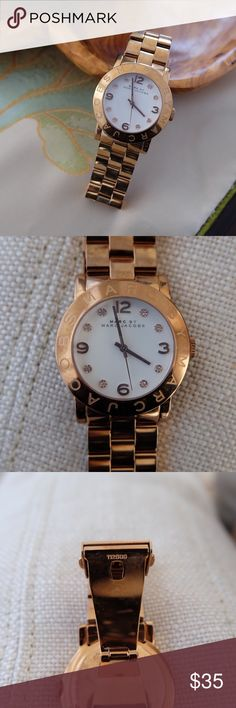 """Marc By Marc Jacobs watches Marc By Marc Jacobs Rose gold Watch. A little bit oxidized, needs cleanup and battery. No extra links. Unbox. 6"""" round. Marc By Marc Jacobs Accessories Watches"""