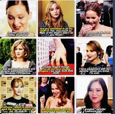 She is probably the most real female celebrity out there. I absolute love Jennifer Lawrence.