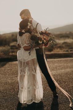 Kwaaymii Point Elopement in the California Sunset | Junebug Weddings