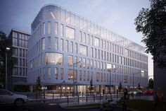 Office building - Warsaw on Behance