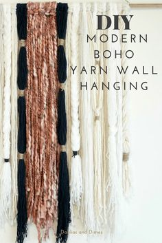 Over the last few months, I've been obsessed with macrame or yarn wall hangings. My Pinterest boards have become inundated with yarn wall art. You can see some of my favorites in my January Highlights. While putting the design together for the baby girl's nursery, I was set on hanging one above her crib. It needed to […]