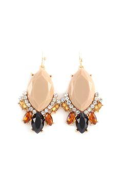 Margaret Earrings in Mocha