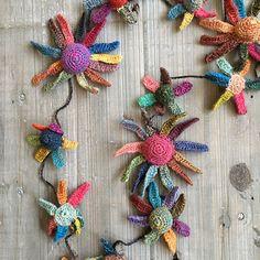 Sophie Digard Fleurs de Peau Necklace
