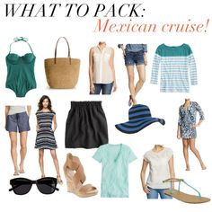 jillgg's good life (for less)   a style blog: what to pack: Mexican cruise!