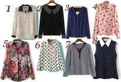 Coisas de mulher cristã : Lindas blusas da Romwe
