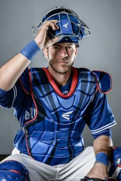 JP Arencibia -- I go weak for a man in gear