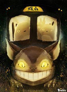 Tonari no Totoro Hayao Miyazaki, Cat Bus Totoro, Mei Totoro, Totoro Merchandise, Nausicaa, Studio Ghibli Art, Cats Bus, Nerd Art, Ghibli Movies