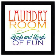 You should see this Laundry Room Art Print on Daily Sales!