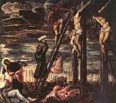 Crucifixión de Cristo, Tintoretto