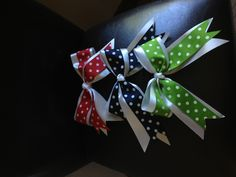 How to make cheer bows-would have been so helpful in highschool!!!!!!!