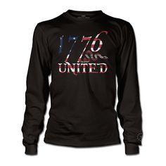 1776 United® LS Logo Tee - Betsy Ross
