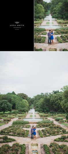KIM + TY   Engagement Session at Fort Worth Botanical Gardens  ANNA SMITH PHOTOGRAPHY