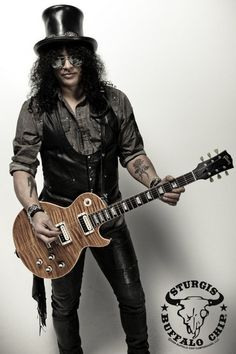 Guitarist Slash will play the Buffalo Chip Campground on Aug. featuring Myles Kennedy and the Conspirators. Richard Fortus, Duff Mckagan, Guns N Roses, Les Paul, Music Love, Rock Music, Instrumental, Historia Do Rock, Saul Hudson