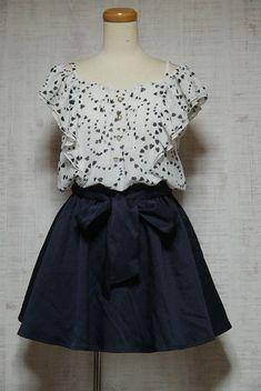 Ank Rouge Off Shoulder Dress Japanese Style Fashion Sweet Dreamy Kawaii Cute 04 #AnkRouge #ALineDress #Casual