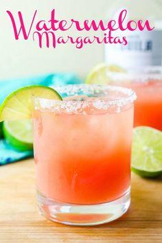 Watermelon margarita recipe perfect summer cocktail life s ambrosia easy adult pink lemonade Refreshing Summer Cocktails, Healthy Cocktails, Fruity Cocktails, Easy Cocktails, Summer Drinks, Cocktail Drinks, Alcoholic Drinks, Simple Cocktail Recipes, Acapulco
