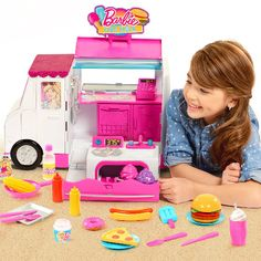 Features over 25 play cooking tools and food pieces and has lots of fun features like a light up oven and sizzling grill.