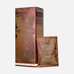 Organo™ Gourmet Hot Cocoa, it's an indulgent cocoa powder mix for an instant chocolate drink enhanced with Ganoderma lucidum used in Chinese tradition for its immune benefits. Enjoy hot or cold! Chocolate Brands, Chocolate Flavors, Hot Chocolate, Coffee Zone, Drinking Tea, Healthy Drinks, Cocoa, Sachets, Organic