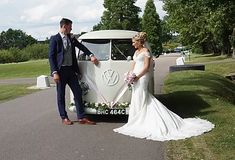 Wedding Car Hire Bexley | The White Van Wedding Company Wedding Car Hire, Wedding Company, Wedding Venues, Court Weddings, Unique Weddings, Preston Court, White Vans, Civil Ceremony, London Wedding
