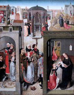 Maestro della leggenda di S. Caterina d'Alessandria, ultimo quarto del XV sec., Amsterdam