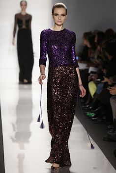 Spectacular!  This color combo is just fabulous...and different!  by Chado Ralph Rucci RTW Fall 2013