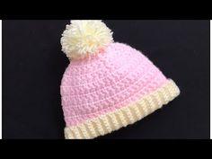 Easy Star Stitch Crochet Baby Beanie Hat, Crochet Hat for boys and girls 0-12M, Crochet for Baby - YouTube Crochet Hats For Boys, Crochet Baby Beanie, Baby Beanie Hats, Hat Crochet, Star Stitch, Boy Or Girl, Stars, Easy, Girls