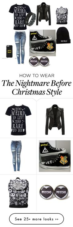 """""""Untitled #1"""" by katrina-johnston on Polyvore featuring Converse and Kill Brand"""