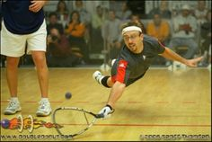 Jason Mannino, my favorite racquetball player of all time (and current IRT Commissioner)