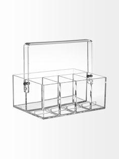 Clear tool box -säilytyslaatikko