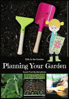 Garden Plan with Kids - The Educators' Spin On It. Gardening with kids is a great way to incorporate academic and social learning in the outdoors, but like all great activities, it is important to make a plan. Spring Projects, Garden Projects, Garden Crafts, Project Based Learning, Kids Learning, Early Learning, Preschool Garden, Garden Kids, Gardening For Beginners