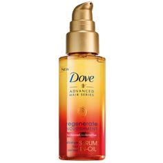Dove Advanced Hair Series Regenerative Nourishment Serum-In-Oil, oz Best Hair Oil, Advanced Hair, Nail Polish Trends, Best Oils, Oily Hair, Hair Serum, Damp Hair Styles, Damaged Hair, Beauty Hacks