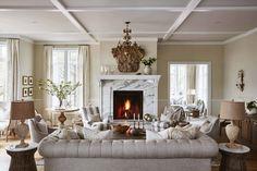 Celebrity designer Sarah Richardson used Metrie's interior finishings in her show-stopping living room.