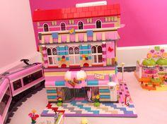 Lego moc friends hotel