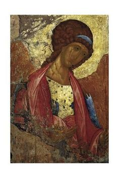 Archangel Michael by Andrei Rublev (circa 1360 – considered to be the greatest medieval Russian painter of Orthodox icons and frescoes. Byzantine Icons, Byzantine Art, Russian Icons, Russian Art, Religious Icons, Religious Art, Andrei Rublev, Russian Orthodox, Art Icon