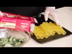 MISKO Κανελόνια με σπανάκι και φέτα - YouTube