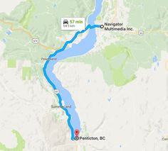 Websites designed for Penticton BC businesses by Navigator Multimedia Inc.