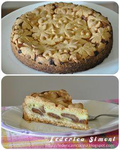La cucina di Federica: Crostata con amaretti e mascarpone