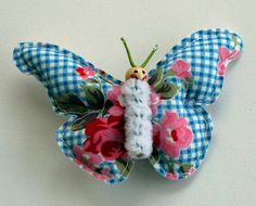 Happy Butterfly Barette for little girls by MissAdorable on Etsy, $9.00