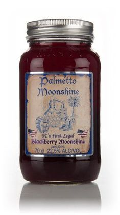 Palmetto Blackberry Moonshine Whisky x l) Whisky, Blackberry, Brewing, Salsa, Jar, Cookies, Amazon, Food, Vodka